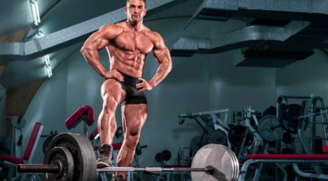 bodybuilder gym