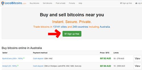 localbitcoin register